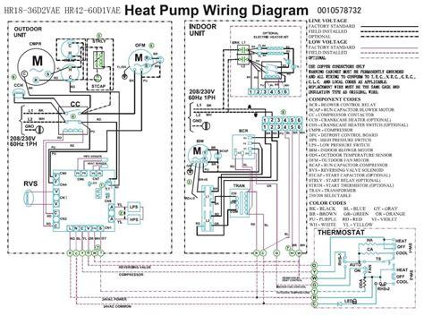 trane heat wiring diagram heat compressor fan