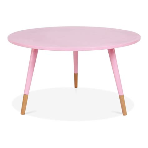 Pink Side Table Cult Living Pink 42cm Pop Side Table In Solid Wood Cult Furniture Uk