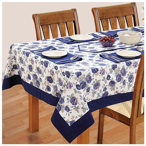 Dining Table Cloth Sets 6 Seater Dinner Table Linen Set Kitchen Dining Tablecloth Napkins Cloth Ebay
