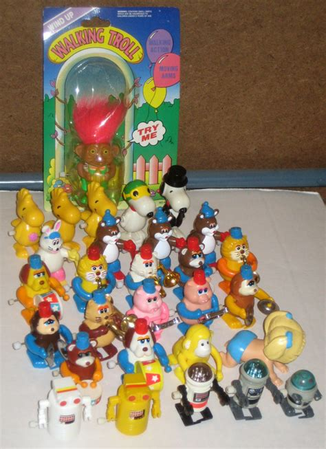 Baby Bathtub Toys Walking Wind Up Toy Lot Tomy Animal Marching Band Snoopy