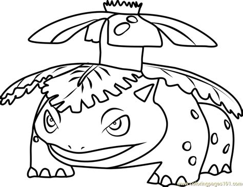 pokemon coloring pages venusaur venusaur pokemon go coloring page free pok 233 mon go
