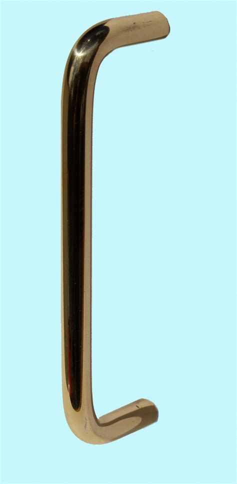 Solid Brass Cabinet Pulls by Cabinet Pull Bright Solid Brass Plain 4 1 2 Quot