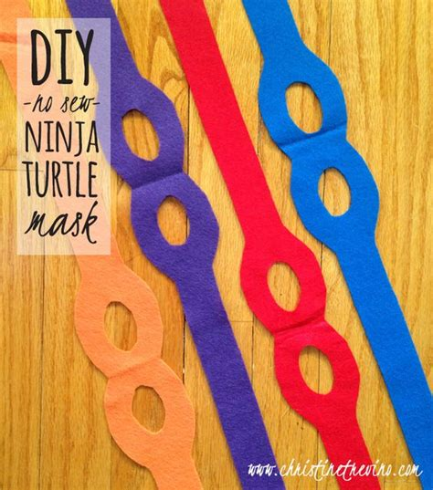 felt ninja pattern ninja turtle mask ninja turtles and ninjas on pinterest