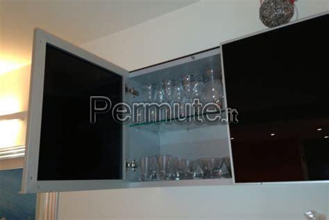 mobili usati ancona pensili cubotti bontempi vetro nero lucido e grigio