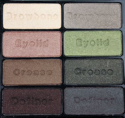 wet n wild eyeshadow palette comfort zone wet n wild 8 eyeshadow palettes swatches photos review
