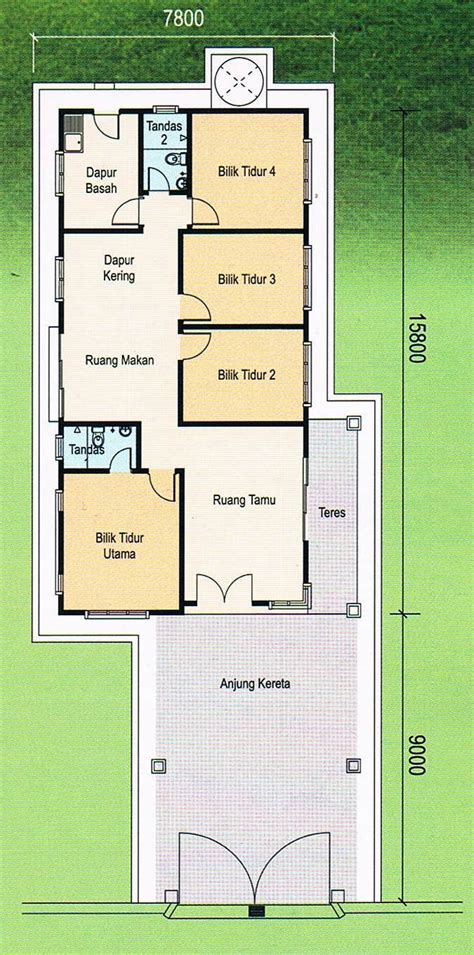 single storey bungalow floor plan single storey bungalow bukit katil 171 house for sale in