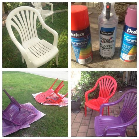 Best Spray Paint For Plastic Chairs - bye bye beige plastic chairs hello gorgeous plastic