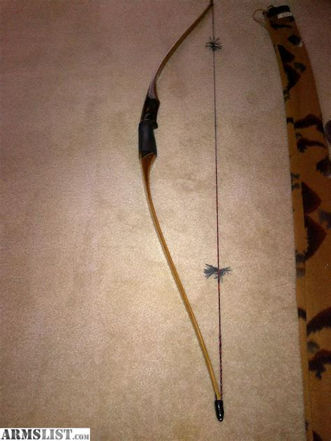 Handmade Recurve Bow For Sale - armslist for sale trade humminbird custom recurve bow