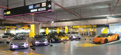 hertz celebrates  dream cars rental  miami