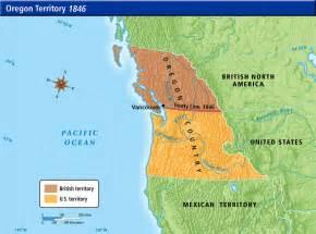 map of oregon territory us history maps