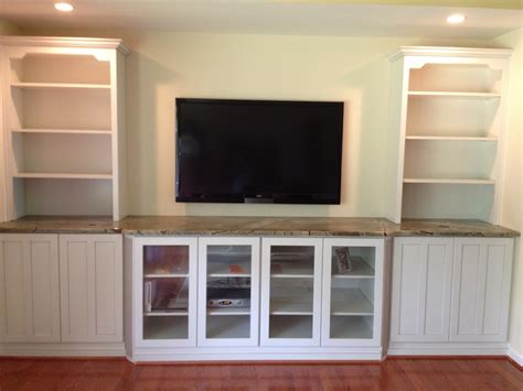 tv built in dining room built in wall unit hand crafted built in tv