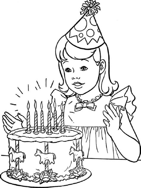 happy girl coloring pages free printable happy girl