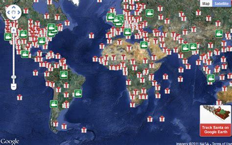 santa map norad santa trackers record