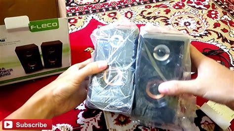 Speaker Mini Fleco F 017 speaker fleco f 017 unboxing