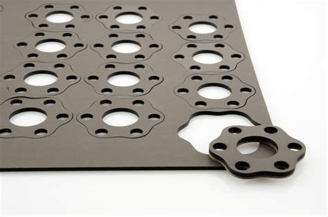 laser rubber st material waterjet cutting services cr technology inc