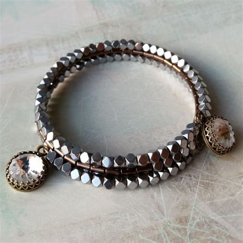 sea bead bracelets sea urchin memory wire bracelet allfreejewelrymaking