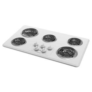 Amana Cooktop Amana Acc6356kfw 36 Quot 5 Element Electric Coil Cooktop White