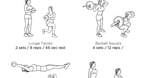 abs blast workout illustrated exercise plan created at workoutlabs fit click