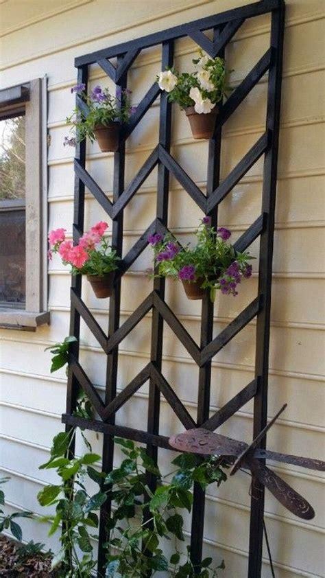 Trellis Art 15 Creative And Easy Diy Trellis Ideas For Your Garden
