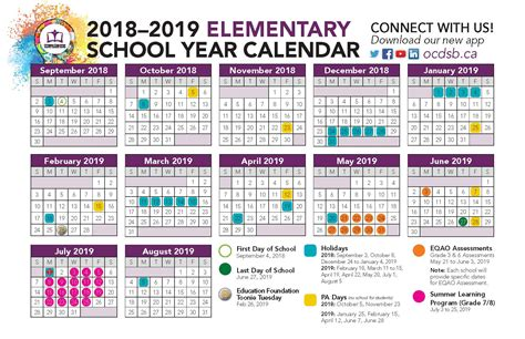 district calendars approved 2018 19 school year calendar