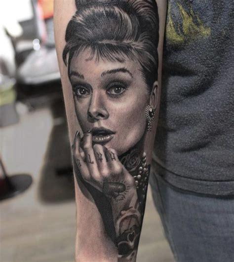 audrey hepburn tattoo hepburn portrait best ideas gallery