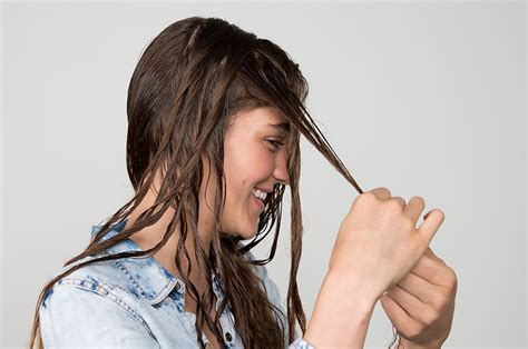 dry hair upside down perfect beachy waves here s how to get em beautylish