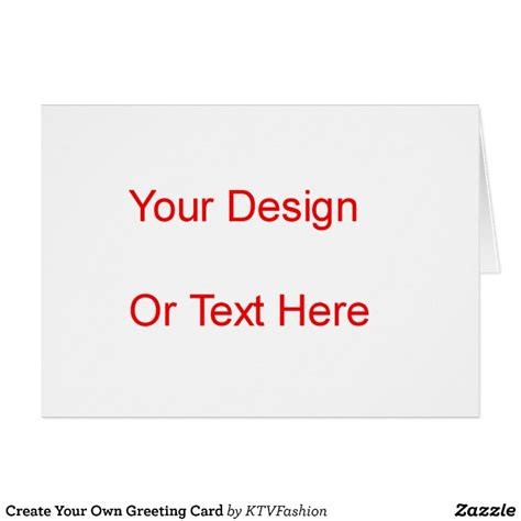 make your cards create your own greeting card zazzle