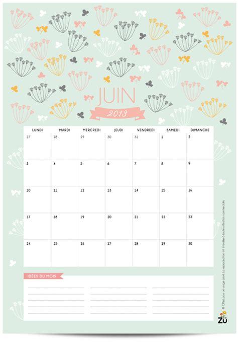 Calendrier Zu Z 252 Calendrier 2013 Diy Juin