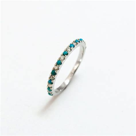 Wedding Rings With Turquoise by 17 Best Ideas About Turquoise Wedding Rings On