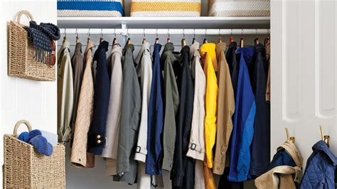 coat closet declutter the coat closet martha stewart