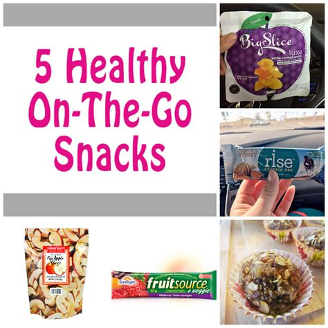 5 healthy on the go snack ideas big slice apples giveaway foodie loves fitness - Healthy Giveaway Ideas