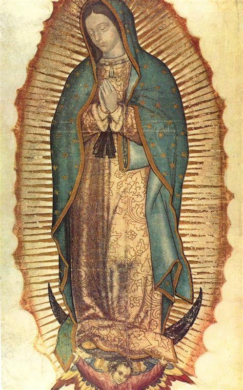 imagen de la virgen de guadalupe que esta en la basilica vivir de cara a dios en la fiesta de la emperatriz de am 233 rica