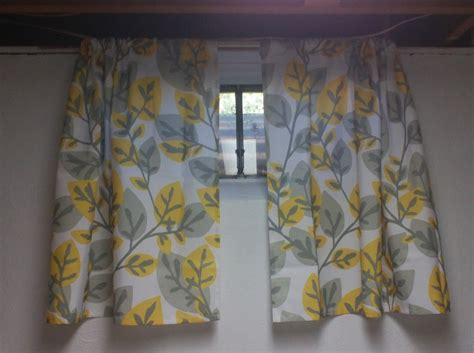Curtains For Basement Windows Basement Window Curtain Rods Basement Window Curtains Will Help You To Get A New Look For Your