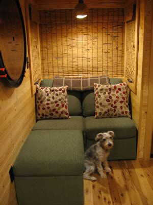 tiny house seating halley s house