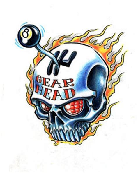 gear head tattoos designs 8 tattoos and designs page 11