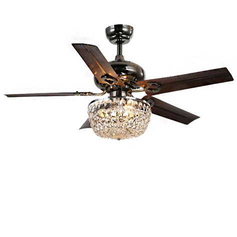 Ceiling Fans With Chandelier Light Warehouse Of 43 In Indoor Bronze 5 Blade Chandelier Ceiling Fan With