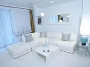 white modern living room hgtv