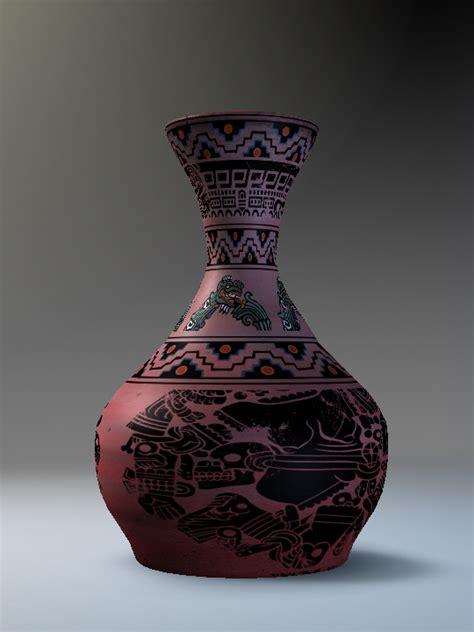 Aztec Vases by Aztec Based Vase By Potteryplanner On Deviantart