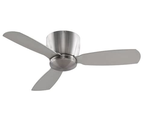 pottery barn ceiling fan embrace ceiling fan brushed nickel pottery barn