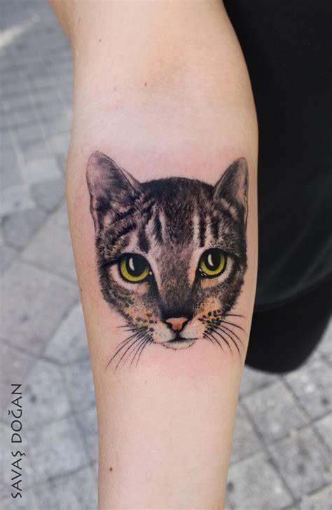 tattoo cat realistic 40 beautiful cat tattoos