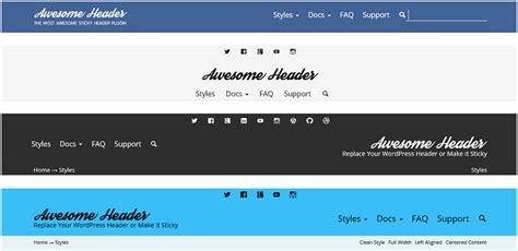 wordpress theme free video header sticky header plugins for wordpress thematosoup