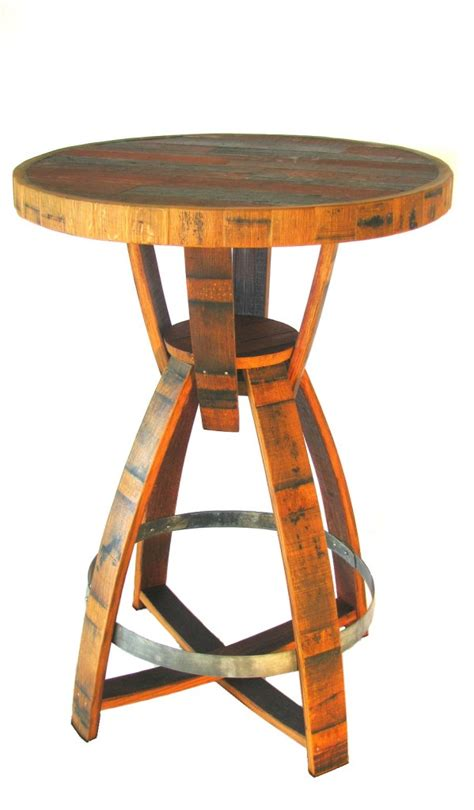 wine barrel bar table hungarian workshop