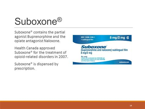 Detox Protocol From Ms Contin With Suboxone by Buprenorphine Naloxone Ppt
