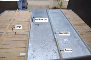 schema toiture zinc