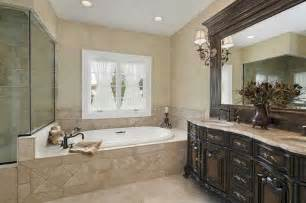 Small master bathroom remodel ideas with classic design complete with