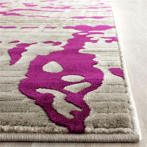 Grey And Purple Area Rug Purple And Gray Rugs Rugs Ideas