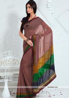 simple and sober simple and sober pattern grey shade saree with prints