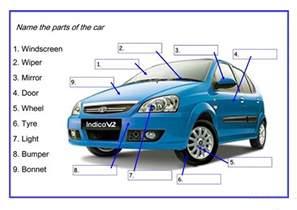 car parts new car parts worksheet free esl printable worksheets made