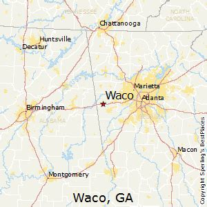 Waco Zip Code Map by Best Places To Live In Waco Georgia