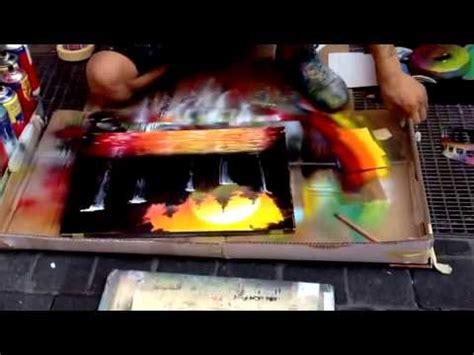 spray paint terbaik pelukis videolike